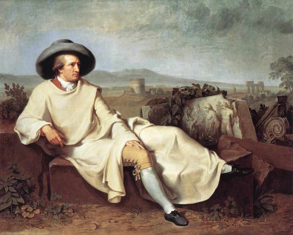 Goethe in Italië.