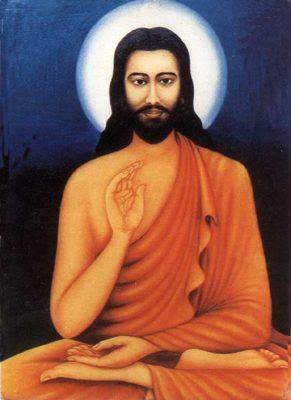 Indiase verbeelding van Jezus.