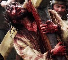 De film 'The Passion of the Christ' van Mel Gibson legt alle nadruk op de bloedigheid van het offer van Jezus.