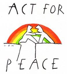 Logo van de Vredesweek 2013.