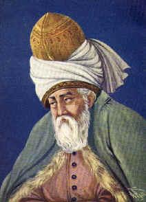 De Perzische dichter en mysticus Djelal-oed-din Roemí (1207-1273) is een van de bekendste soefi's.