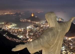 Jezus heerst: het beroemde beeld dat hoog boven Rio de Janeiro torent.