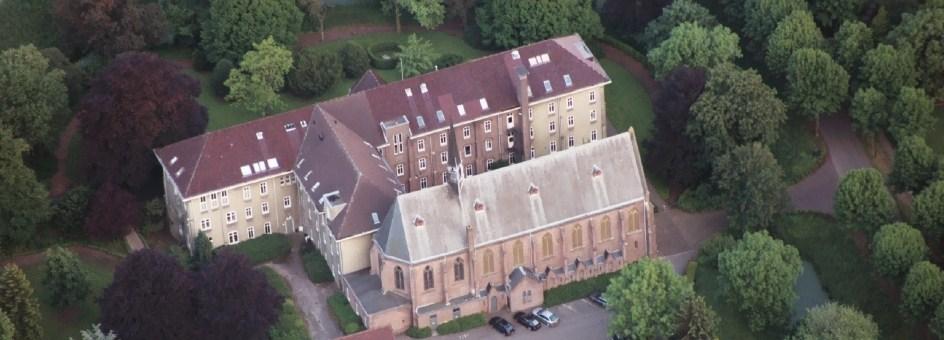 Klooster en kapel van het Dominicanenklooster Huissen, waar ik woon.