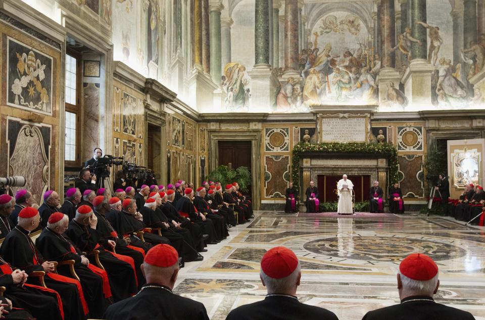 Paus-Curie-toespraak