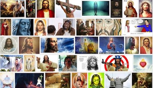 Het aantal beelden van Jezus is schier eindeloos.