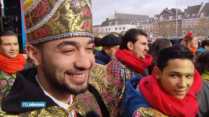Prins Carnaval is geen zondebok meer die aan het einde van het feest wordt vermoord, maar een erebaan. Dit is prins Ali, een Syrische vluchteling uit Aleppo die nu in Maastricht woont.